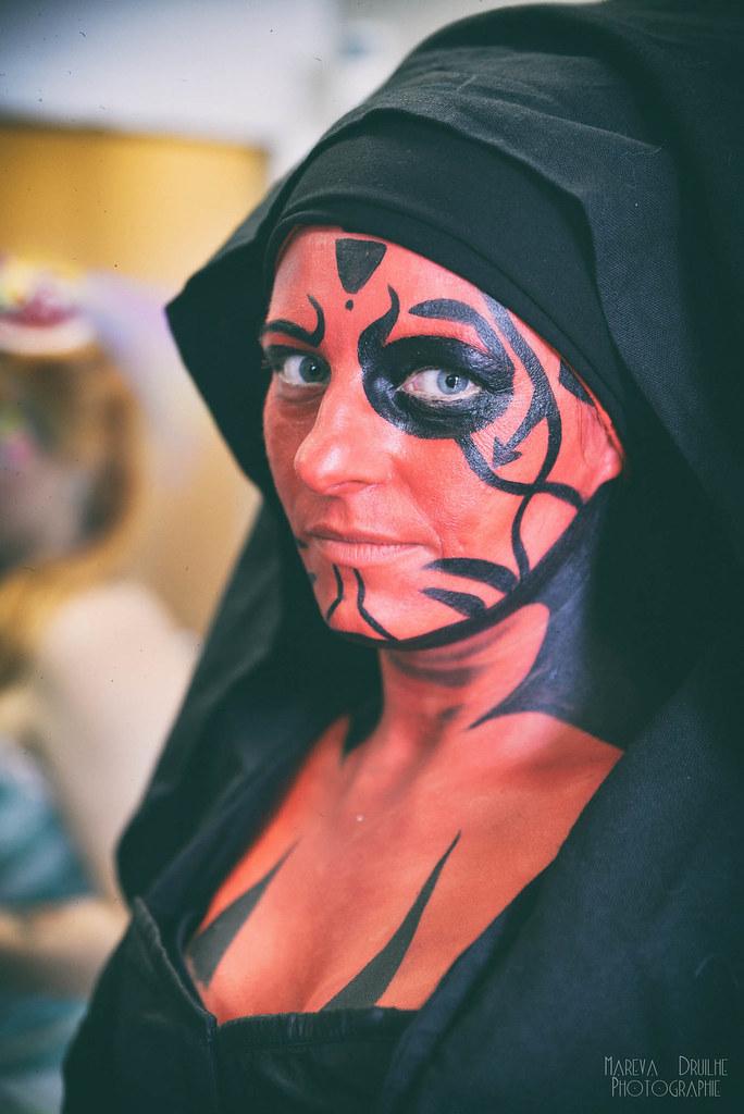 Maquillage et bodypainting