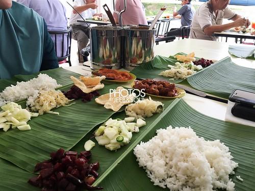 Lunch @ Rajoo Banana Leaf Rice