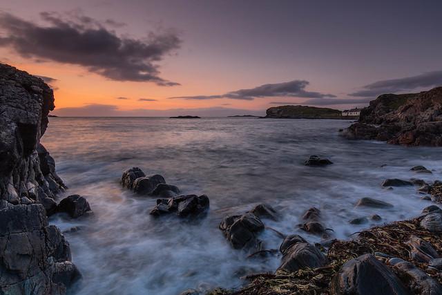 Clashnessie Bay Sunset.