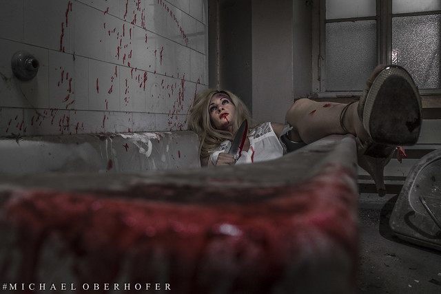 Horror - Shooting mit JEY JEY.