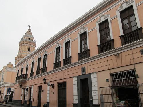 Lima: el Covento Santo Domingo dans le centre historique