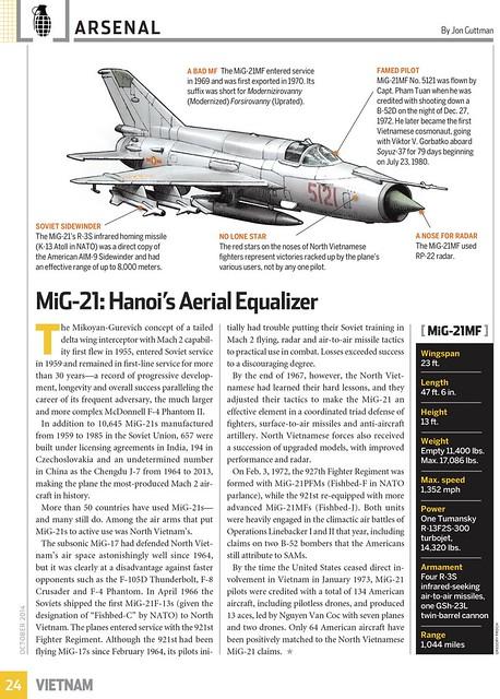 MiG-21: Hanoi's Aerial Equalizer