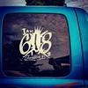 """I am 618"", Trenton P.'s truck, parking lot of the Nashville Casey's. #nashvilleil #southernillinois #southernil #soill #618 #guns #windowdecals #carwindows #pickuptrucks #youmightbearedneck"