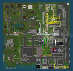 London City in Second Life turns 7