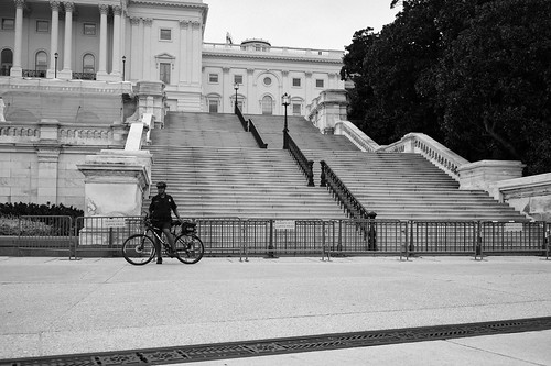"Image titled ""Guarded Steps, United States Capitol."""
