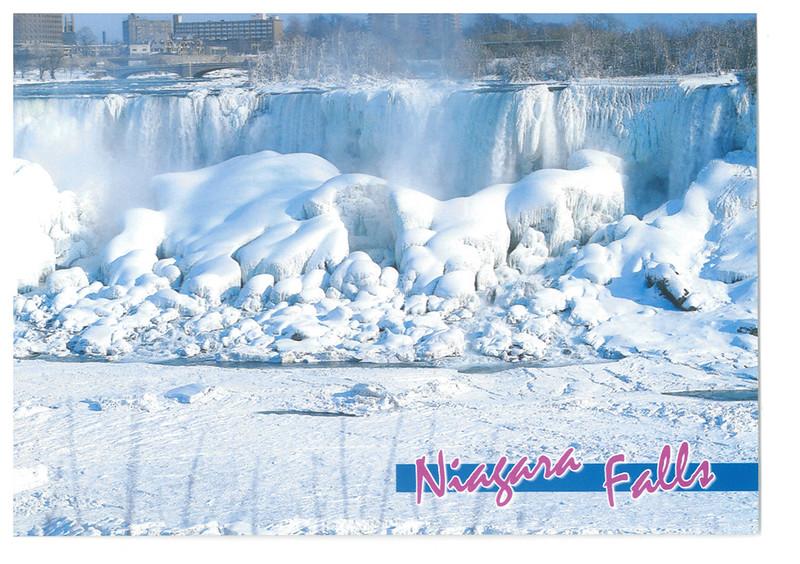 Canada - Niagara Falls 53 - American Fall in Winter