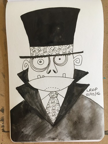 6 Inktober 2016 - Mr Hyde