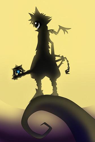 Fan Art - Sora In Halloween Town; Artist - Twero 1