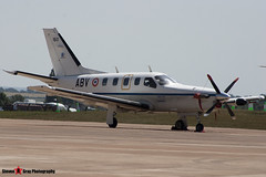 160 ABV - 160 - French Army - Socata TBM-700 - Fairford RIAT 2006 - Steven Gray - CRW_1654
