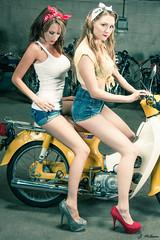 Sarah & Mary @ BlueCat Motors (LR-6144)