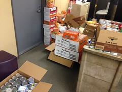 Food received through Avondale Meadows Academy