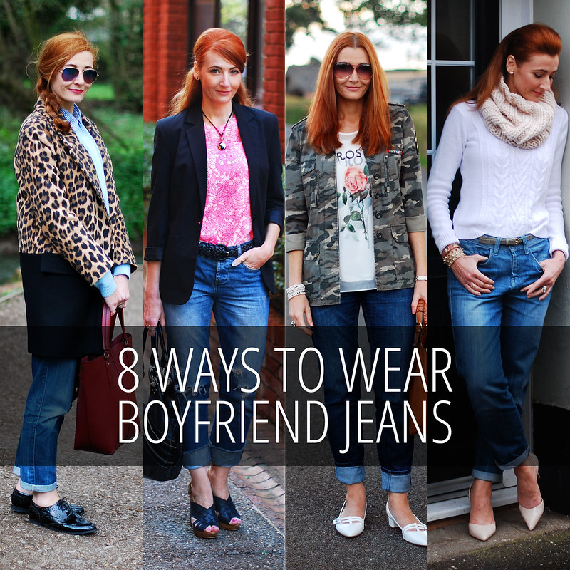 8 Ways to Wear Boyfriend Jeans | Not Dressed As Lamb