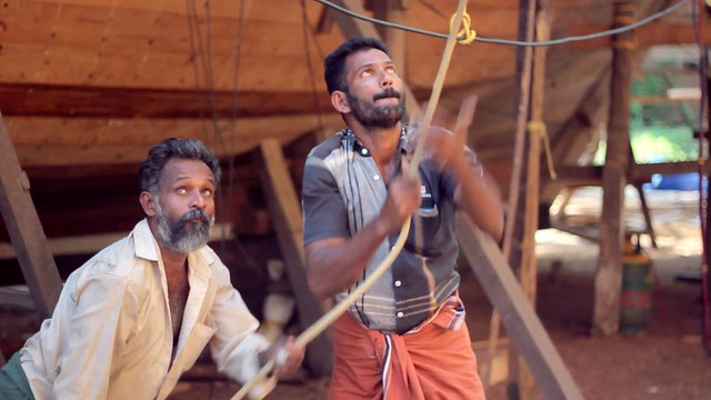 Uru craftsmen & Traditional Indian Boat Building - 1