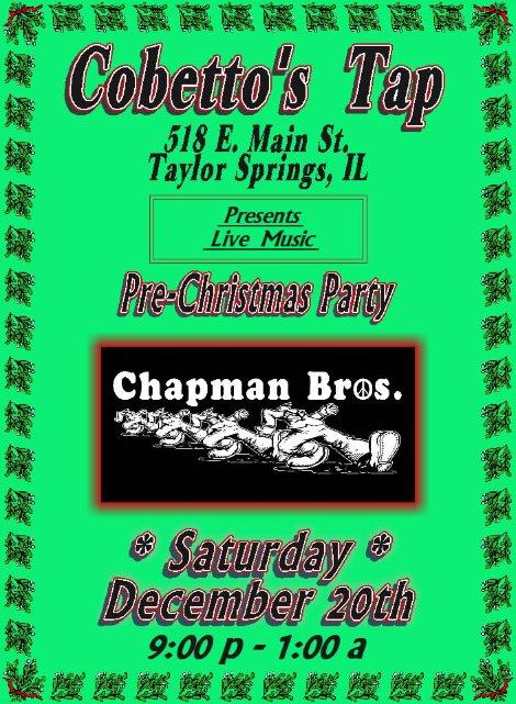 Chapman Bros 12-20-14