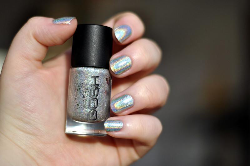 notd gosh holographic nail polish rottenotter rotten otter blog 4