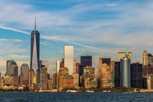 usa ny newyork building skyscrapers manhattan manhattanskyline hudsonriver raya lorien thebigapple freedomtower canon6d theviewfromthestatenislandferrytowardsmanhattanskyline