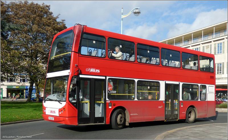 Plymouth Citybus 419 PL51LGX