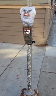 Demonic parking meter