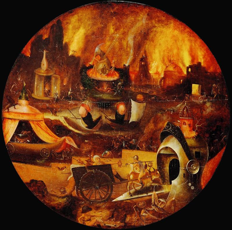 Herri Met de Bles - Hell Landscape (1540's)