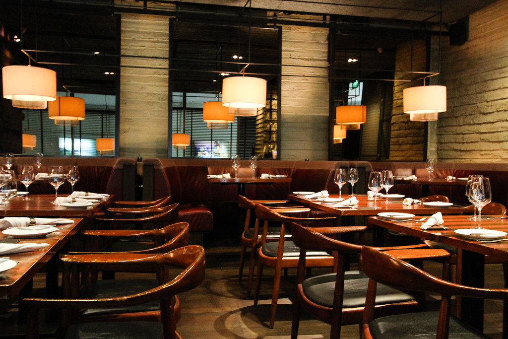 Lunches in the grill bar 1517 from Novikov 91