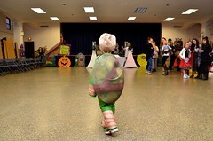 Everett At The School Halloween Party