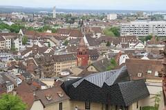 Marktplatz from Basel Münster