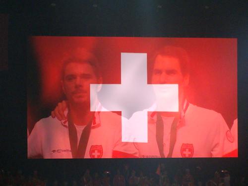 Swiss Cross Wawrinka & Federer