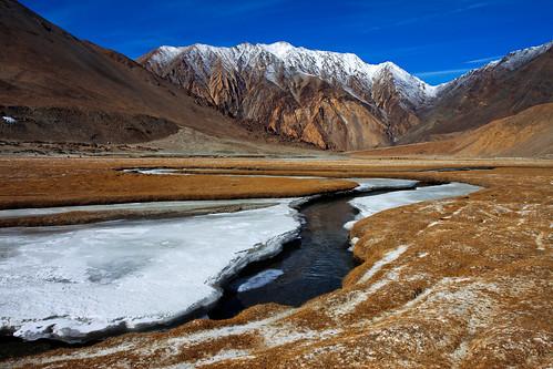 india landscape himalayas ladakh chhangthang