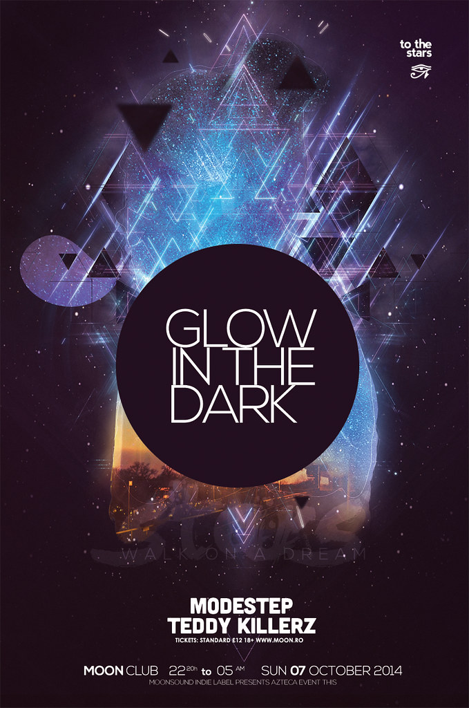Glow In The Dark Poster Flickr Photo Sharing