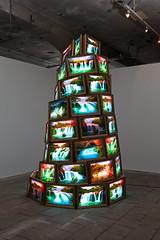 Gøran Hassanpour. Tower of Babel 2011. Momentum 2013. Photo: Vegard Kleven