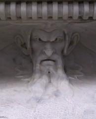 Diablo en el Mausoleo del tenor Gayarre. Roncal (Navarra) (1891-1895)