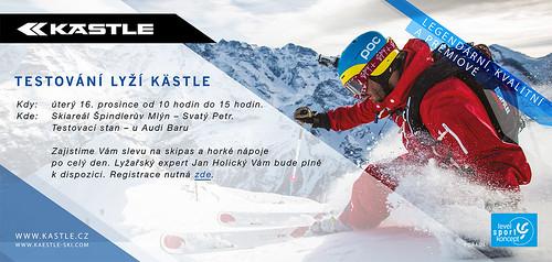 Testování lyží Kastle