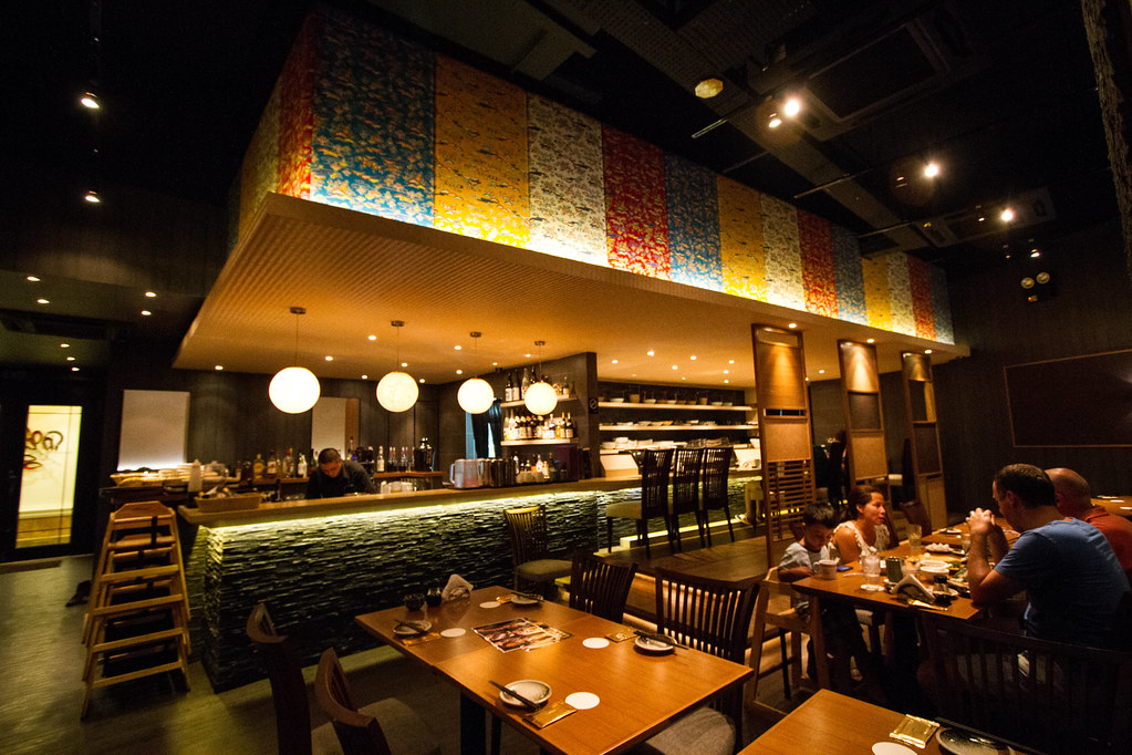 En Japanese Dining Bar Interior