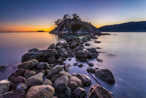 ocean sunset sea seascape canada nature vancouver landscape rocks dusk britishcolumbia tide shoreline wilderness westcoast whytecliffpark whyteisland pierreleclercphotography