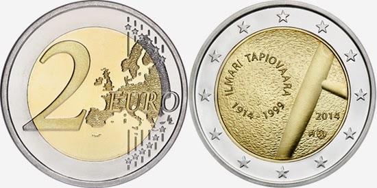 2 Euro Fínsko 2014, Ilmari Tapiovaara