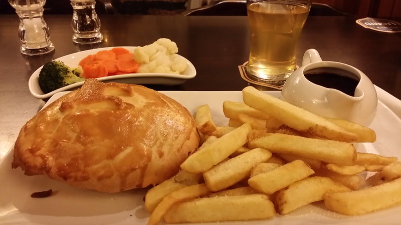 Reward of a Steak and Ale pie at the Plume of Feathers
