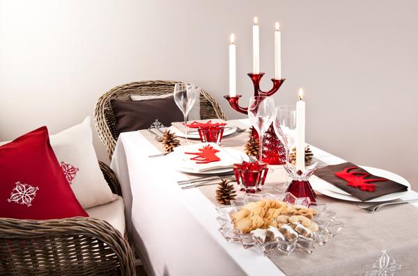 La tavola di natale le decorazioni e il bon ton noodloves - Tovaglie da tavola di natale ...