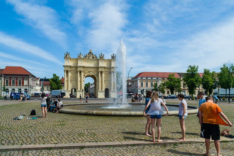 Puerta de Brandeburgo de Potsdam