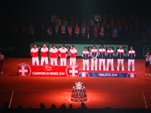 Swiss & French with trophies