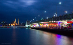 Galata Bridge and Yeni Camii - Long Exposure