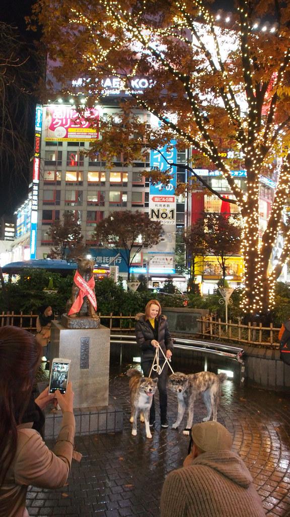 渋谷街头 Streets of Shibuya