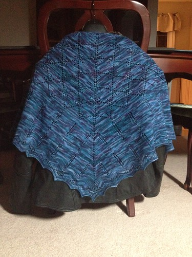 Père Lachaise Shawl ~ Finished 2