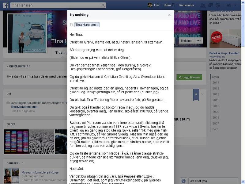 tina facebook