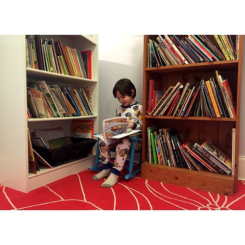 Everyone needs a reading nook #wrappedupinbooks