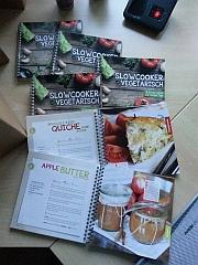 Kochbücher eingetroffen