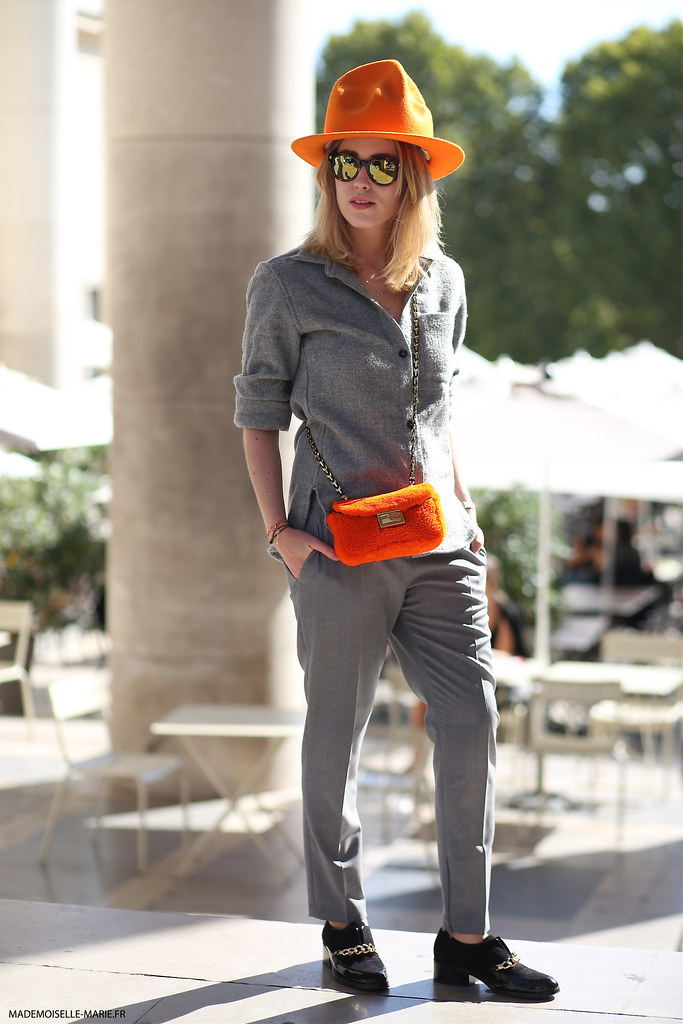 Annabel Rosendahl, Street style at Paris fashion week