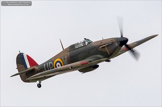 Hawker Hurricane Mk1 R4118 UP-W | by Ian Garfield - thanks for over 2 million views!