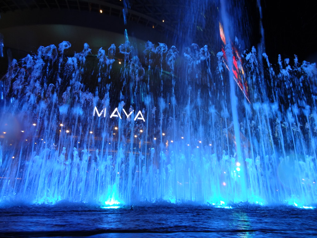 Maya Mall Fountain