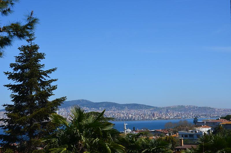 Ausblick auf die asiatischen Stadtteile Istanbuls