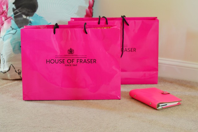 House of Fraser shopping